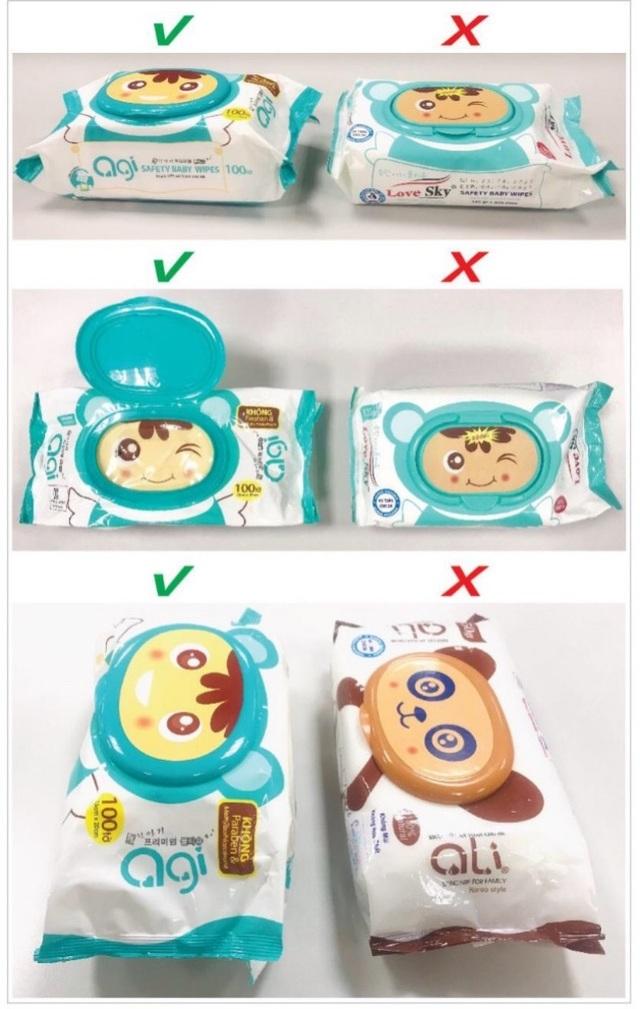 Khăn giấy ướt AGI đổi bao bì mới, khuyến cáo người dùng tránh mua hàng nhái - 1