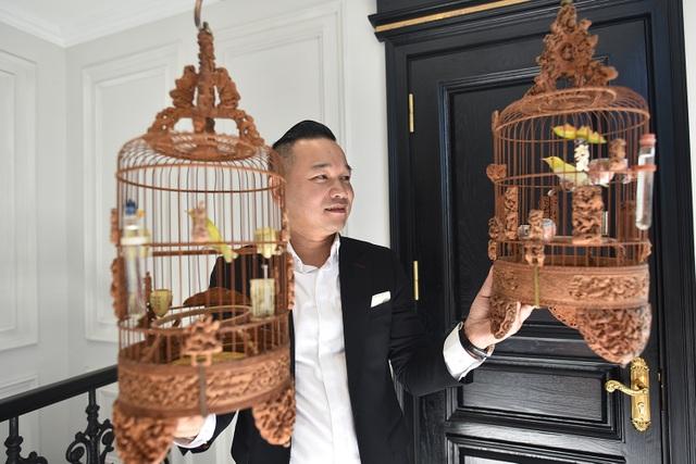 Cận cảnh bộ sưu tập lồng chim đắt đỏ giá 10 tỷ đồng của đại gia Việt - 3
