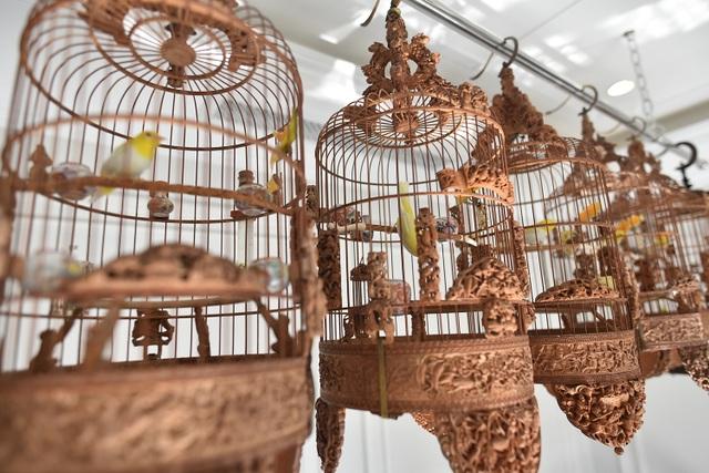 Cận cảnh bộ sưu tập lồng chim đắt đỏ giá 10 tỷ đồng của đại gia Việt - 2