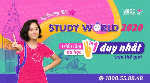 Học bổng đến 100%  cơ hội việc làm, định cư Anh, Úc, Canada tại triển lãm du học Study World - 1
