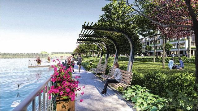 Tận hưởng cuộc sống xanh và an tại khu nhà phố Compound The Pearl Riverside - 2