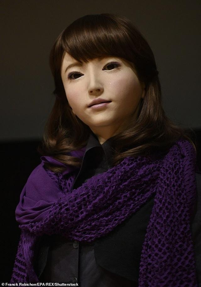 Robot thông minh xinh đẹp đóng vai nữ chính trong phim điện ảnh - 1