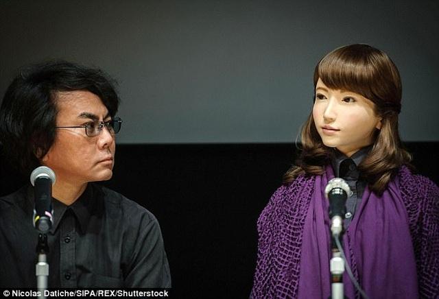 Robot thông minh xinh đẹp đóng vai nữ chính trong phim điện ảnh - 2
