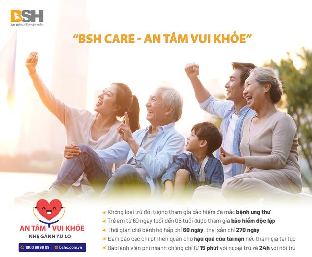 Trẻ dưới 6 tuổi đã có thể tham gia gói bảo hiểm sức khỏe độc lập của BSH - 1