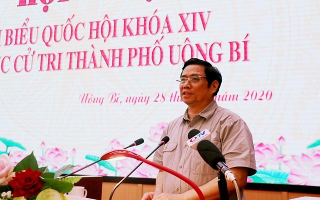 Trưởng Ban Tổ chức Trung ương tiếp xúc cử tri tại TP Uông Bí - 2