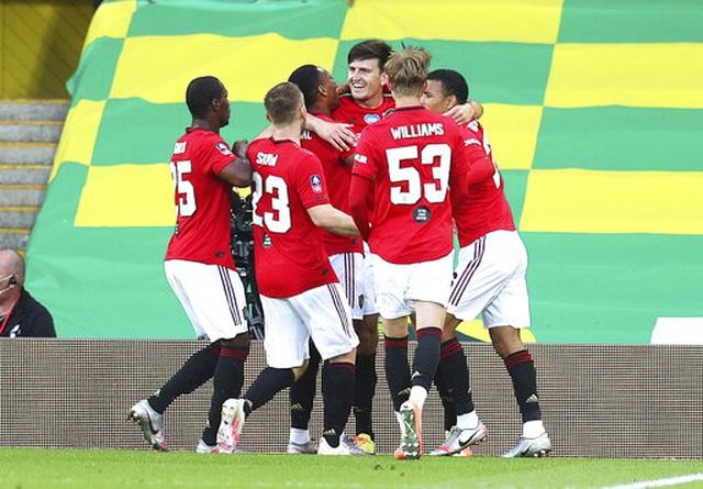 Maguire ghi bàn quyết định, Man Utd nhọc nhằn vào bán kết FA Cup - 2