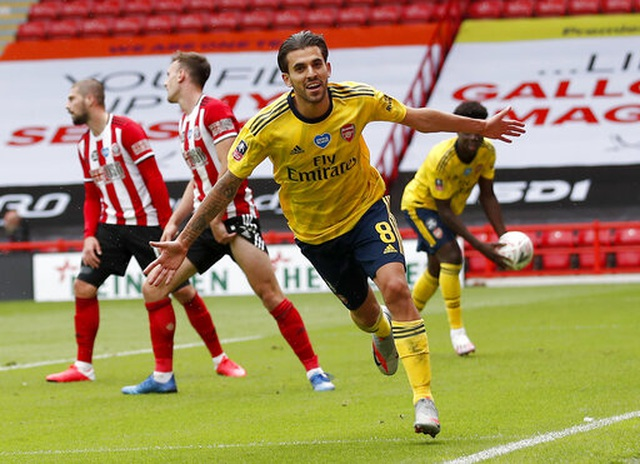 Ceballos ghi bàn thắng muộn, Arsenal vào bán kết FA Cup - 2