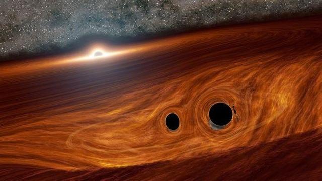 Khoa học phát hiện tia sáng từ các hố đen khi va chạm bằng cách nào? - 1