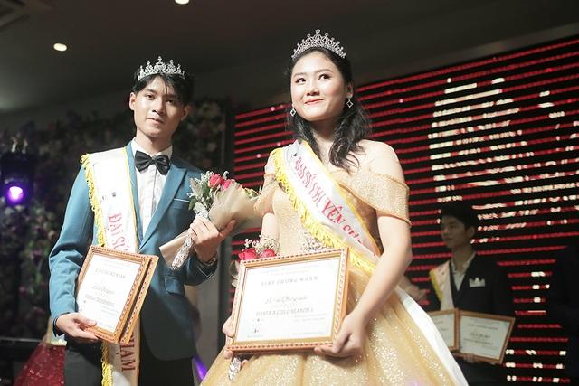 Lộ diện cặp đôi tài sắc đăng quang Đại sứ THPT Chuyên Sư phạm - 4