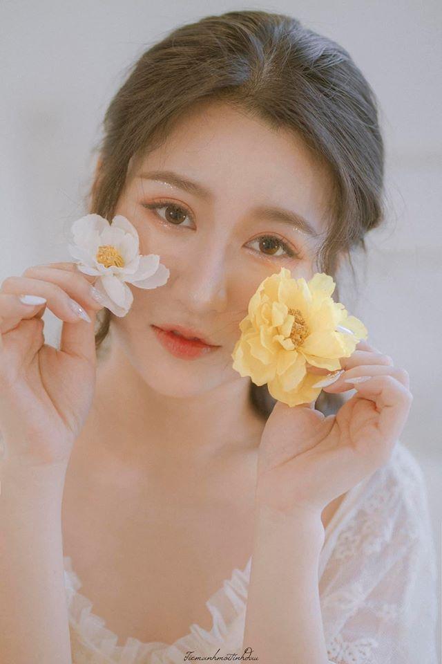 Vẻ đẹp mơ mộng như nàng thơ của Hoa khôi sinh viên Việt tại Nhật - 1