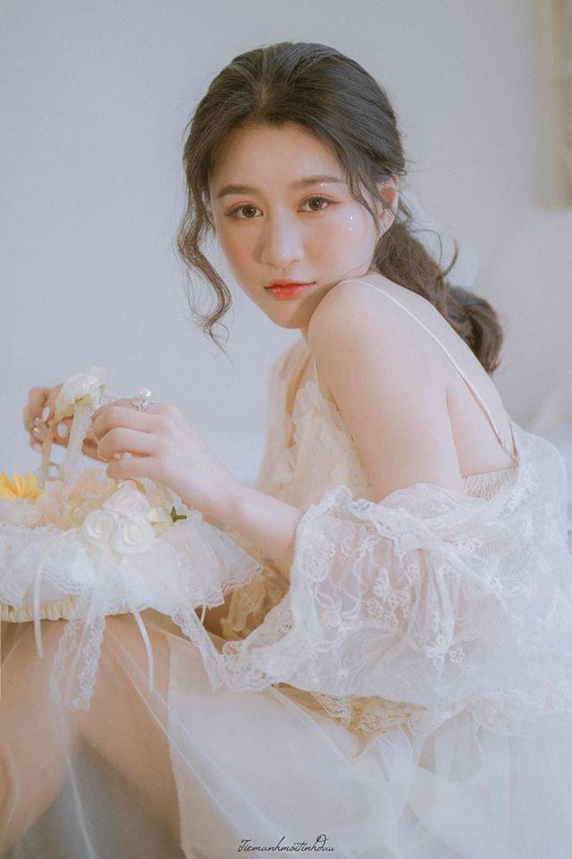 Vẻ đẹp mơ mộng như nàng thơ của Hoa khôi sinh viên Việt tại Nhật - 10