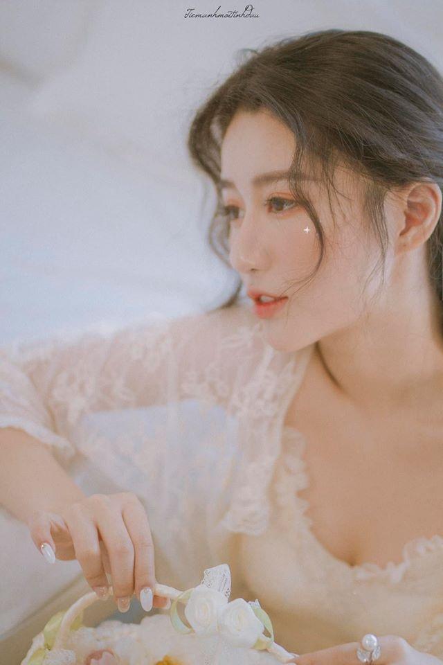 Vẻ đẹp mơ mộng như nàng thơ của Hoa khôi sinh viên Việt tại Nhật - 11