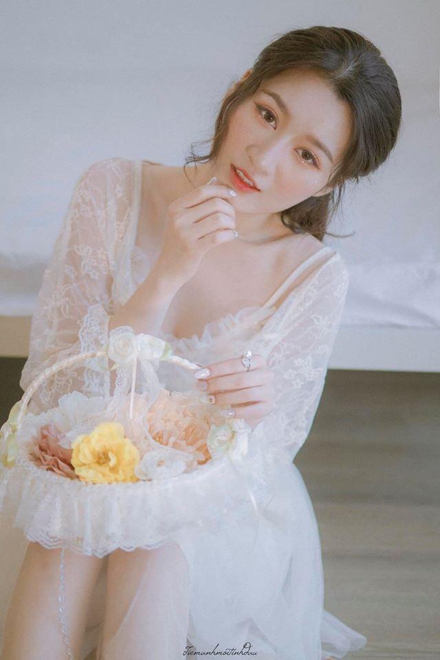 Vẻ đẹp mơ mộng như nàng thơ của Hoa khôi sinh viên Việt tại Nhật - 2