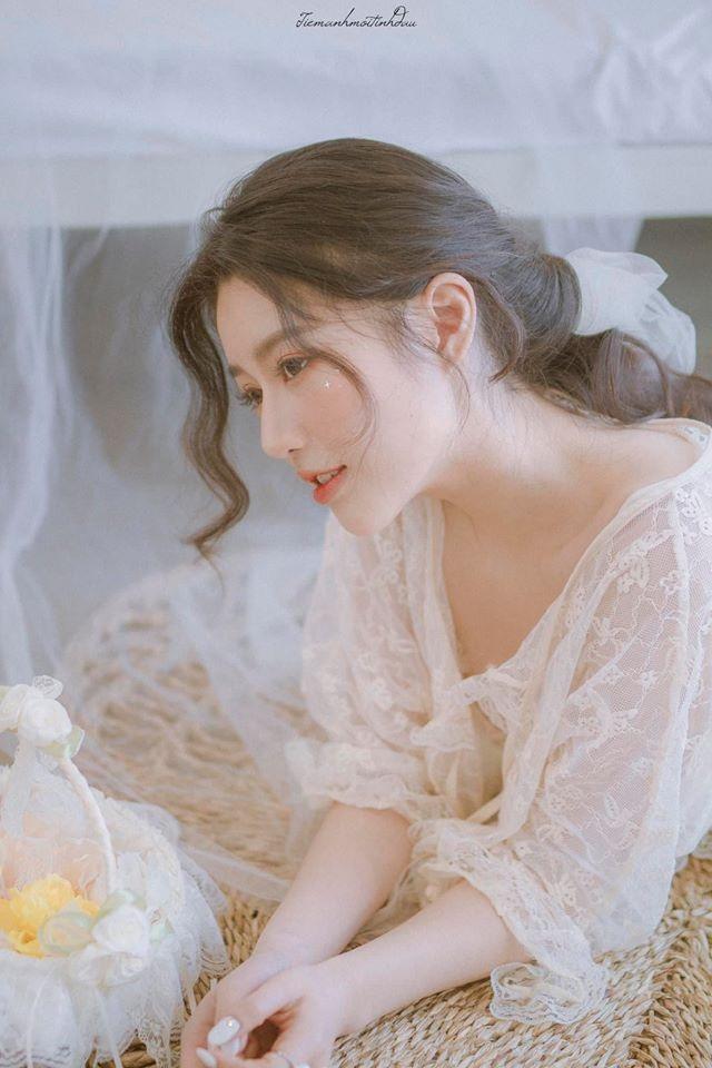 Vẻ đẹp mơ mộng như nàng thơ của Hoa khôi sinh viên Việt tại Nhật - 3