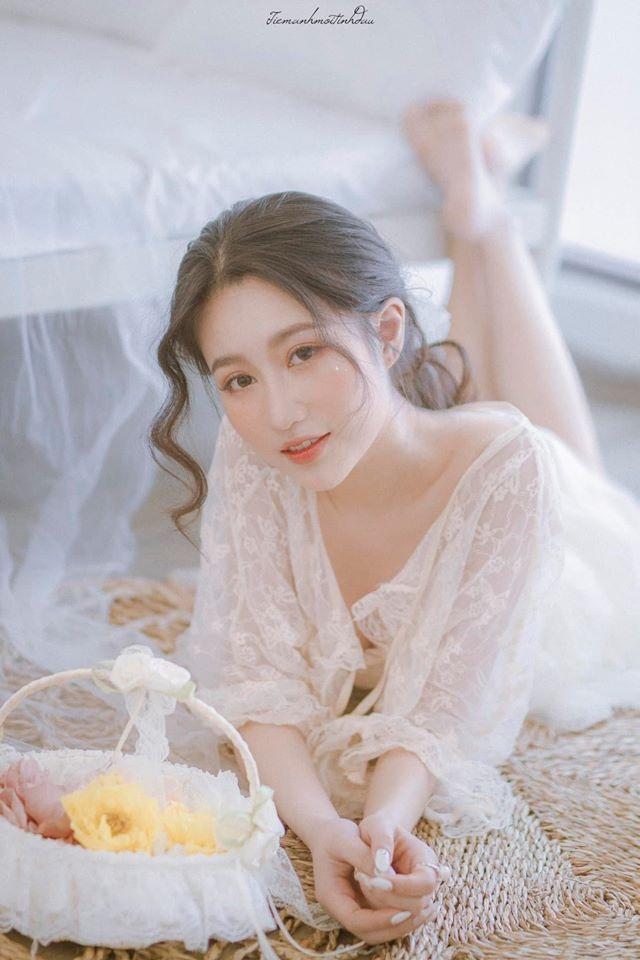 Vẻ đẹp mơ mộng như nàng thơ của Hoa khôi sinh viên Việt tại Nhật - 4
