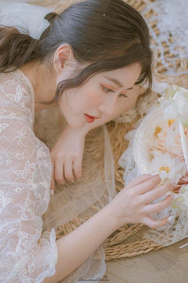Vẻ đẹp mơ mộng như nàng thơ của Hoa khôi sinh viên Việt tại Nhật - 9