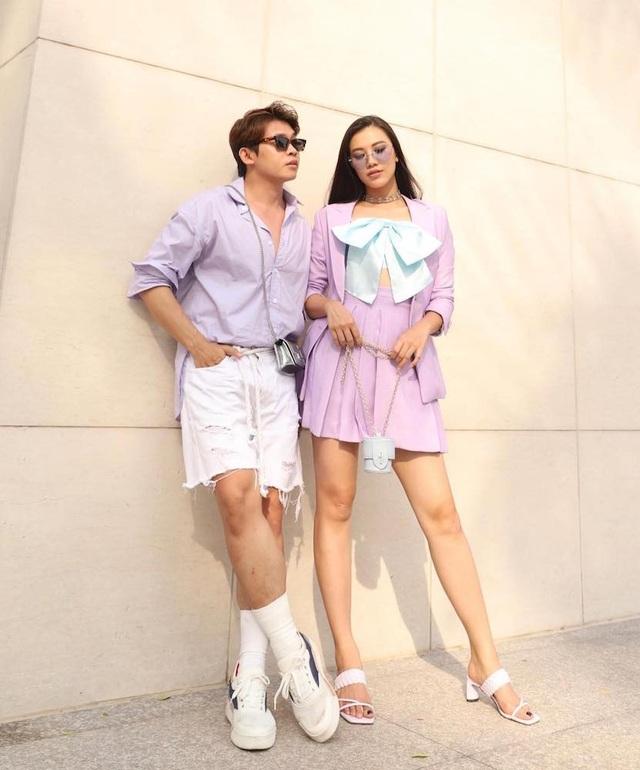 Hoa hậu Khánh Vân gây tranh cãi với mốt môi tều - 9