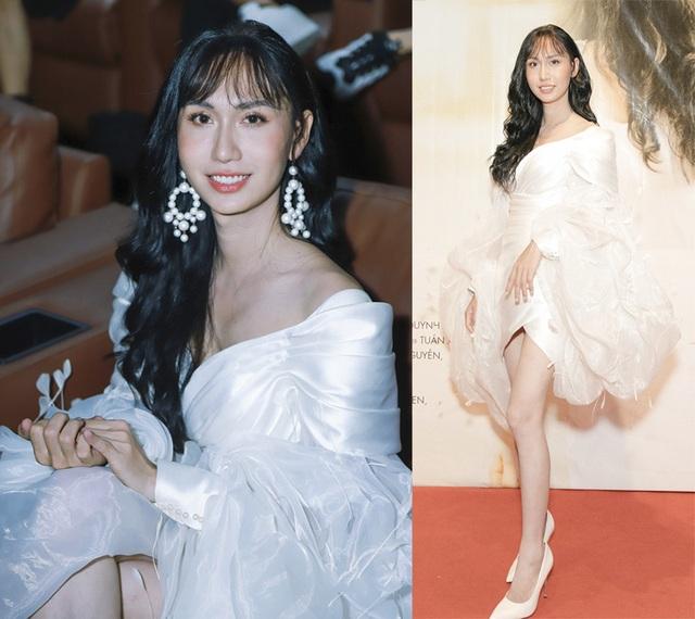 Hoa hậu Khánh Vân gây tranh cãi với mốt môi tều - 11