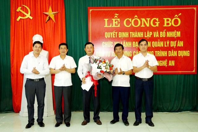 Nghệ An thành lập Ban Quản lý dự án công trình dân dụng và công nghiệp tỉnh - 1