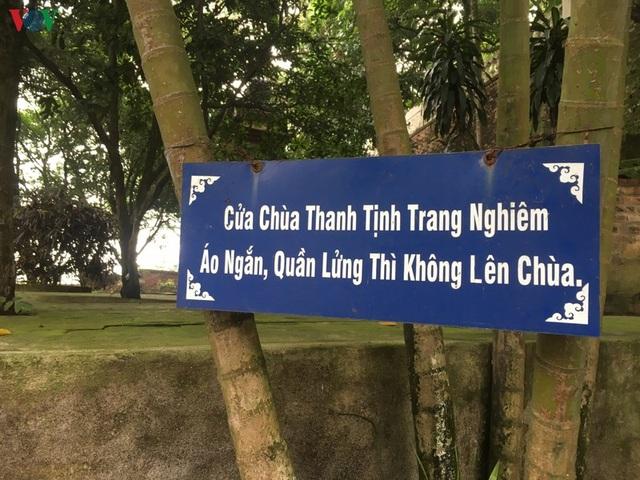 Khám phá ngôi chùa nghìn tuổi ở Bắc Ninh không có hòm công đức - 3