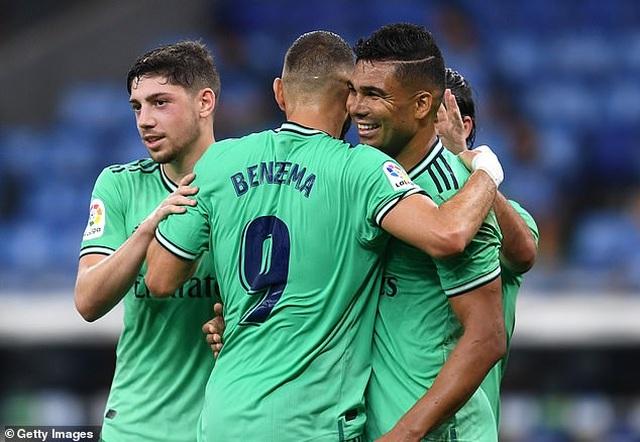 Hạ Espanyol, Real Madrid bứt phá ở ngôi đầu bảng La Liga - 8