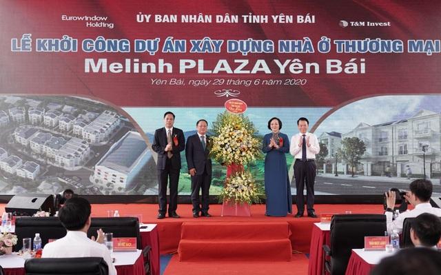 Eurowindow Holding khởi công xây dựng dự án Melinh Plaza Yên Bái - 3