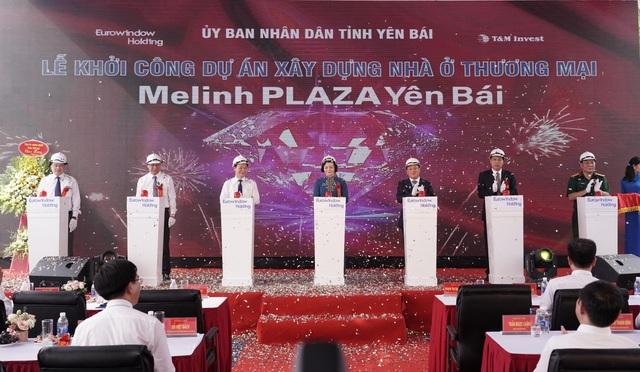 Eurowindow Holding khởi công xây dựng dự án Melinh Plaza Yên Bái - 4