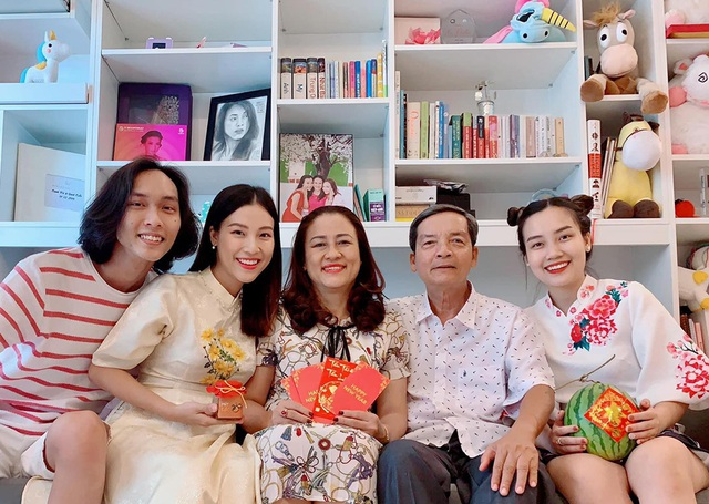 Sao Việt thể hiện tình cảm trong Ngày gia đình  - 8