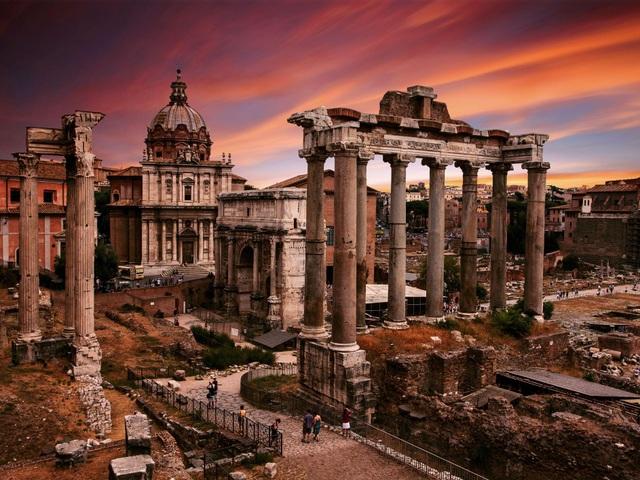 Đế chế La Mã cổ đại bị tiêu diệt bởi núi lửa? - 1