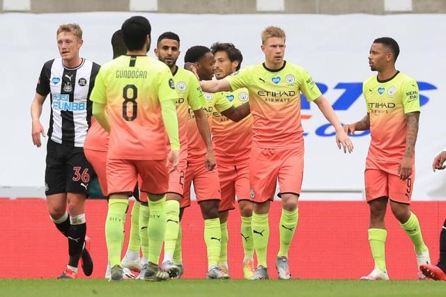 Vượt qua Newcastle, Man City tiến vào bán kết FA Cup - 1