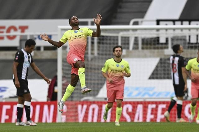 Vượt qua Newcastle, Man City tiến vào bán kết FA Cup - 2
