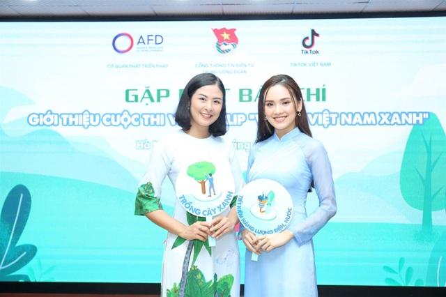 Hoa hậu Ngọc Hân tham gia cuộc thi làm video Vì một Việt Nam xanh - 1