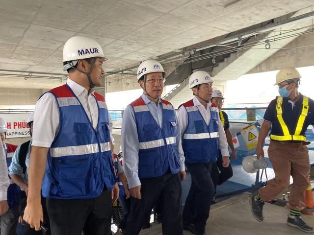 TPHCM kiến nghị giải quyết khó khăn tài chính cho 2 tuyến metro - 4