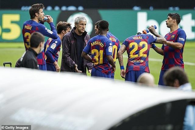 Messi và đồng đội mâu thuẫn gay gắt với HLV Quique Setien - 1