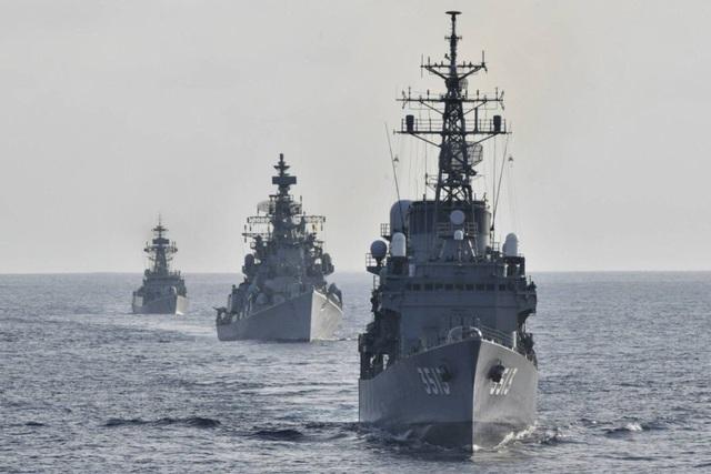 Thông điệp gửi Trung Quốc từ cuộc tập trận hải quân Nhật - Ấn  - 1