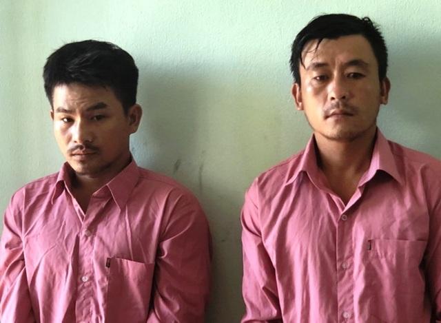 Hai thanh niên trộm xe máy, tháo biển số để đi cướp giật - 1