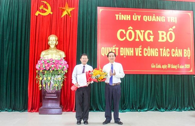 Chủ tịch UBND huyện Gio Linh Trần Văn Quảng kiêm nhiệm Bí thư huyện ủy - 1