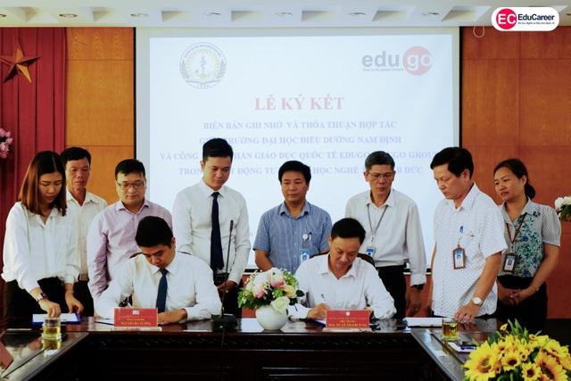 EduGo Group ký kết thỏa thuận hợp tác với Trường ĐH Điều Dưỡng Nam Định - 1