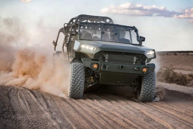 Sau xe tổng thống, GM giành quyền sản xuất xe quân sự - 1