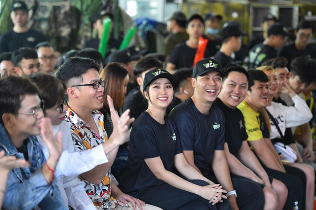 MC Liêu Hà Trinh, Vĩnh Phú và hơn 30 streamer tham gia ngày hội bắn súng sơn - 1