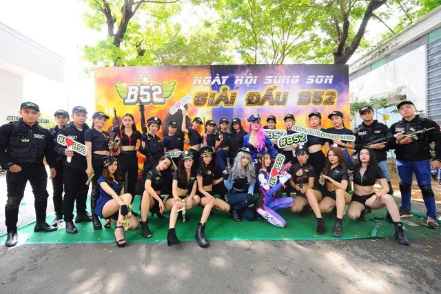 MC Liêu Hà Trinh, Vĩnh Phú và hơn 30 streamer tham gia ngày hội bắn súng sơn - 5