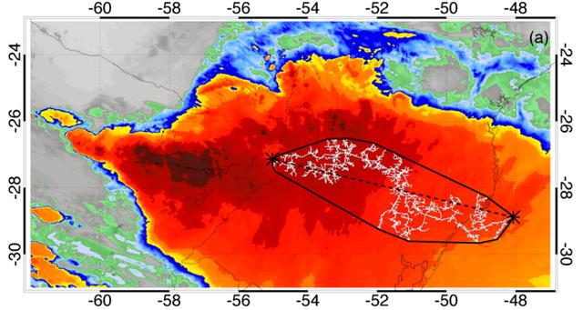Kỷ lục sét đánh dài hơn 700 km ở Brazil - 2