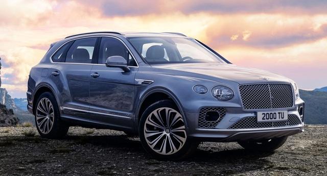 Bentley chính thức nâng cấp Bentayga cho phiên bản 2021 - 25