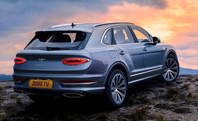 Bentley chính thức nâng cấp Bentayga cho phiên bản 2021 - 26
