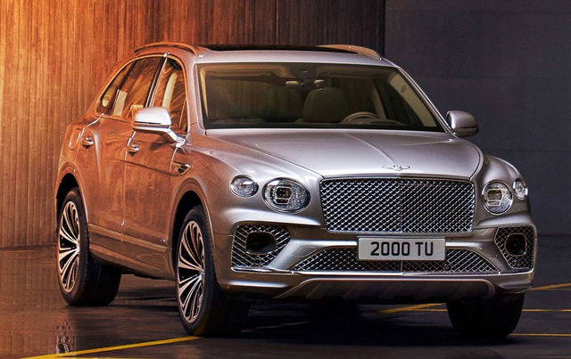 Bentley chính thức nâng cấp Bentayga cho phiên bản 2021 - 22