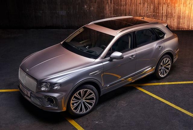 Bentley chính thức nâng cấp Bentayga cho phiên bản 2021 - 23