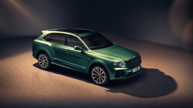 Bentley chính thức nâng cấp Bentayga cho phiên bản 2021 - 5