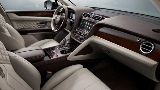 Bentley chính thức nâng cấp Bentayga cho phiên bản 2021 - 2