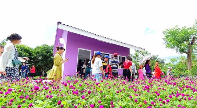 Căn nhà màu tím độc nhất miền Tây - 2