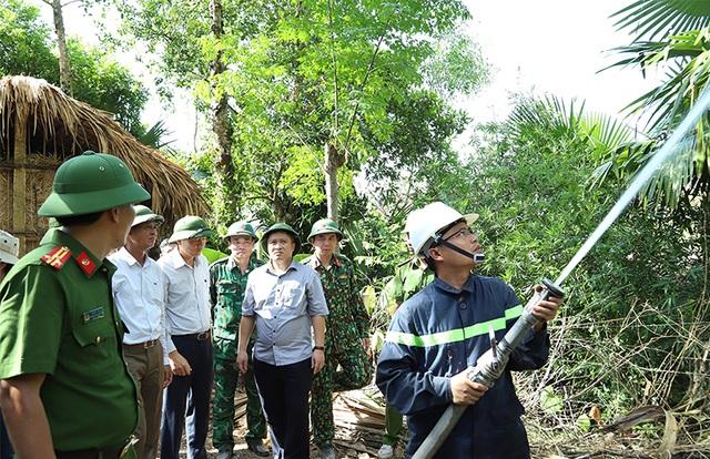 Bộ Nông nghiệp chỉ đạo các biện pháp ngăn thảm họa cháy rừng - 4